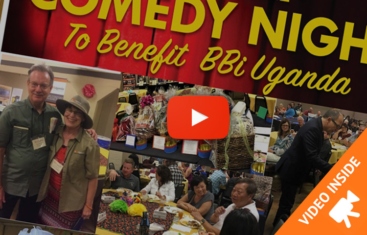 BBiUganda recently entertained over 200 supporters at our 2nd Annual Comedy Night