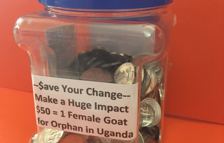 Join Our Spare Change Savings Club